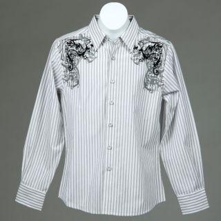 191 Unlimited Boys Stripe Shirt