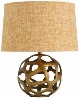 Arteriors 42684 161 Ennis Antique Brass Web Sphere Lamp, Brass