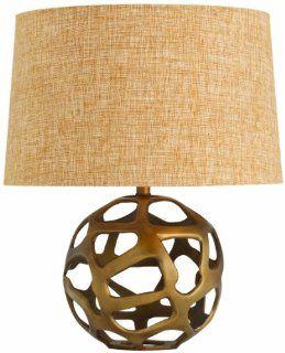 Arteriors 42684 161 Ennis Antique Brass Web Sphere Lamp, Brass