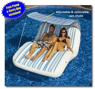 Luxury Cabana Extra Large Lounger is Ideal for the Beach