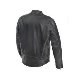 Mossi Mens Drifter Premium Leather Jacket