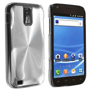 BasAcc Clear/ Silver Aluminum Hybrid Case for Samsung Galaxy S II T989