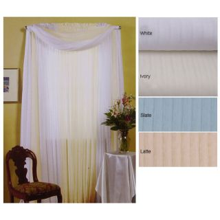 104 x 84 inch Shadow Stripe Curtain Panel Pair