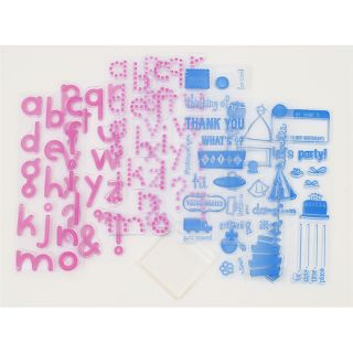 KI Memories 104 piece All Occasion Clear Stamp Kit with Block