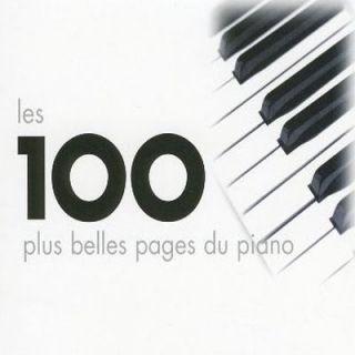 LES 100 PLUS BELLES PAGES DU PIANO – Compilation   Achat CD