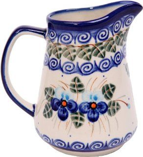 Polish Pottery Ceramika Boleslawiec, 0205/162, Pitcher