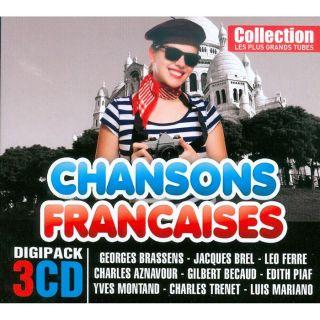 LES PLUS GRANDS TUBES CHANSONS FRANCAISES   Compil   Achat CD