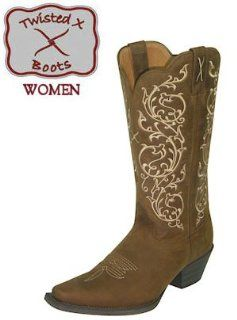 Boots Western Cowboy Traditional WWT0022 Womens Saddle Shoes