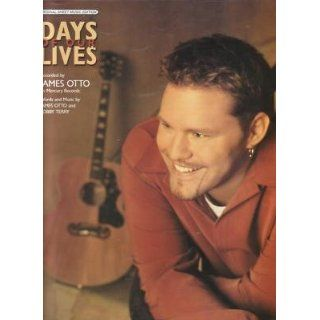 Sheet Music Days Of Our Lives James Otto 162