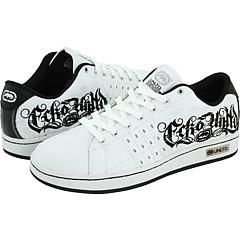 Unltd by Marc Ecko Fenom White/Black/Silver Athletic
