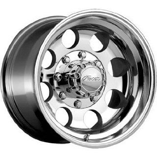 Pacer LT 17x9 Polished Wheel / Rim 6x135 with a  12mm Offset and a 87