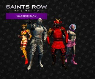 Saints Row The Third   Warrior Pack DLC [Online Game Code