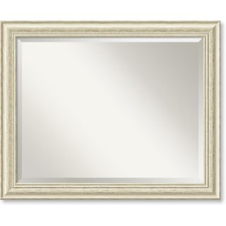 Counry Whiewash Large Wall Mirror