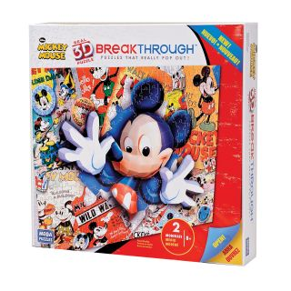 Mega Brands 200 piece 3D Mickey Mouse Puzzle