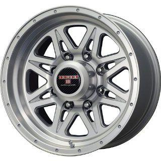 Level 8 Strike 8 Matte Silver Machined Wheel (16x8.5/8x165.1mm