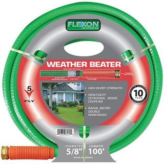 Flexon (0.625 x 100) Weather Beater Garden Hose