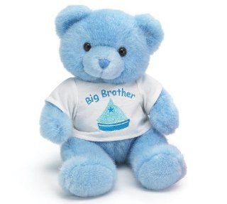 Blue Big Brother Teddy Bear Plush Stuffed Animal Toys
