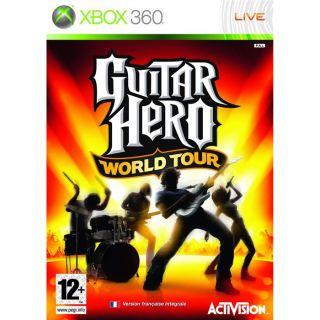 GUITAR HERO WORLD TOUR / JEU CONSOLE XBOX360   Achat / Vente XBOX 360
