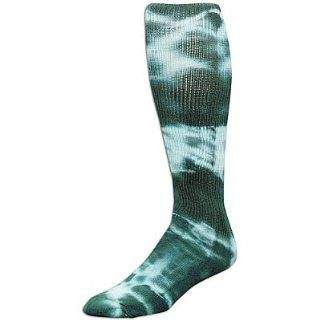 Dark Green, Small Tyed Dye (Tye Dyed) Knee High Socks for