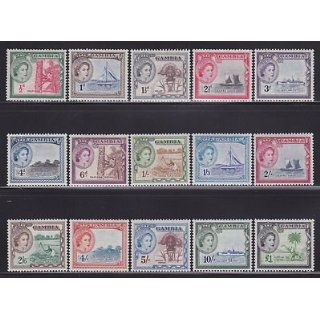 Gambia 153 167 VF OG MLH set nice colors scv $ 75 ! see