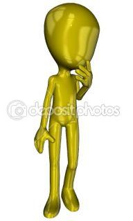 Michael cartoon character  Stock Photo © Patrik Ruzic #3536043