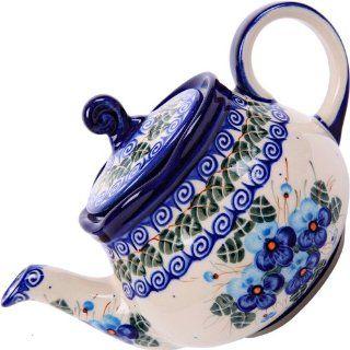 Polish Pottery Ceramika Boleslawiec, 0105/162, Teapot