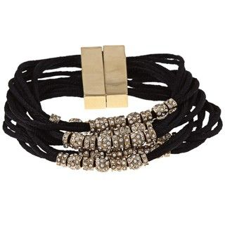 ABS by Allen Schwartz Gone Wild Crystal Bead Bracelet