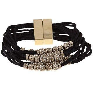 ABS by Allen Schwartz Gone Wild Crystal Bead Bracelet