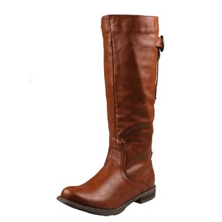 Refresh by Beston Womens Bailey 01 Knee high Riding Boots