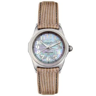 Invicta Womens Grey Butterfly Dial Automatic Watch