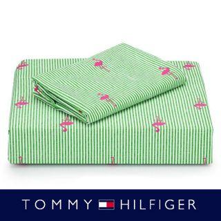 Tommy Hilfiger 200 Thread Count Christina 4 piece Printed Sheet Set
