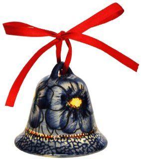 Polish Pottery   Christmas Bell #163 Kitchen & Dining