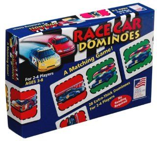 Race Car Dominoes: Toys & Games