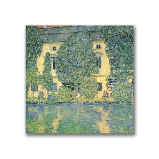 Gustav Klimt The Schloss Kammer on the Atterse Canvas Art Today $48