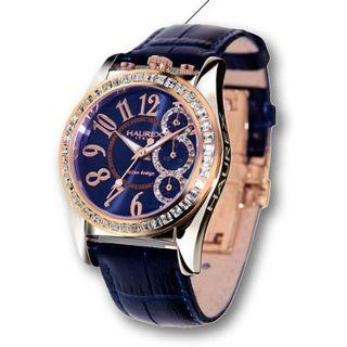 Haurex Italy Promise Womens Crystal Chrono Watch