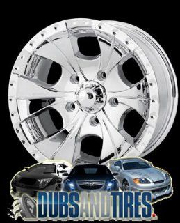 17 Inch 17x8 Ion Alloy wheels STYLE 165 Chrome wheels rims :