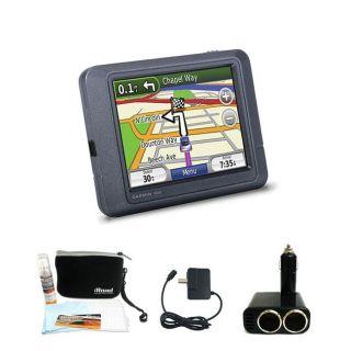 Garmin Nuvi 205 GPS Navigation System with Bonus Kit (Refurbished