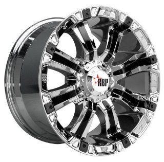 RBP 94R Chrome Wheel with Black Insert and Chrome Finish (17x9.0