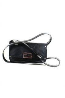 Fendi Handbags Black Nylon & Leather 8BT166 (Messenger bag