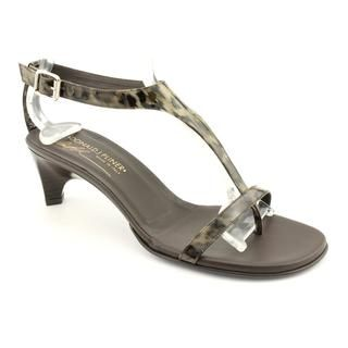 Donald J Pliner Womens Venna Patent Leather Sandals
