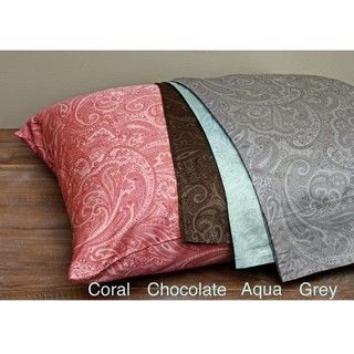 Paisley Egyptian Cotton 600 Thread Count Sateen Sheet Set