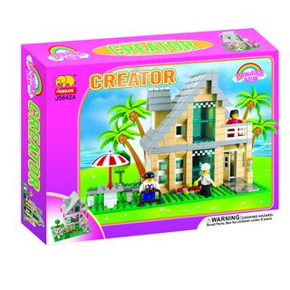 Fun Blocks City Diorama (E)   Beach House (466 pieces)