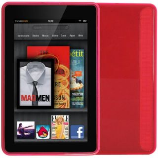 SKQUE  Kindle Fire Pink TPU Case