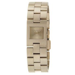 Calvin Klein Womens Kalalis PVD Coated Stainless Steel Quartz Watch