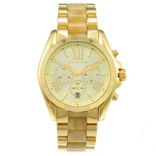 Michael Kors Womens Goldtone Watch Today $195.99