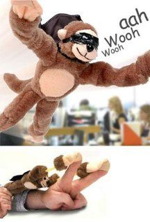 Slingshot Flying Monkey With Scream Sound Baby