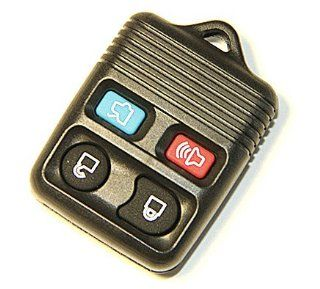 Remote Key Replacement Case Shell 4 Button Pad for Ford