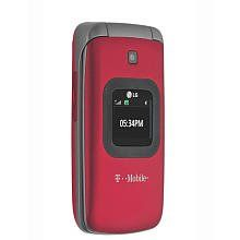 T Mobile Prepaid LG GS170 No Contract Mobile Phone Red