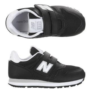 Modèle 373. Coloris  Noir, blanc et gris. Baskets NEW BALANCE enfant