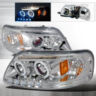 97 98 99 00 01 02 Ford F150, Expedition Halo Projector Headlights